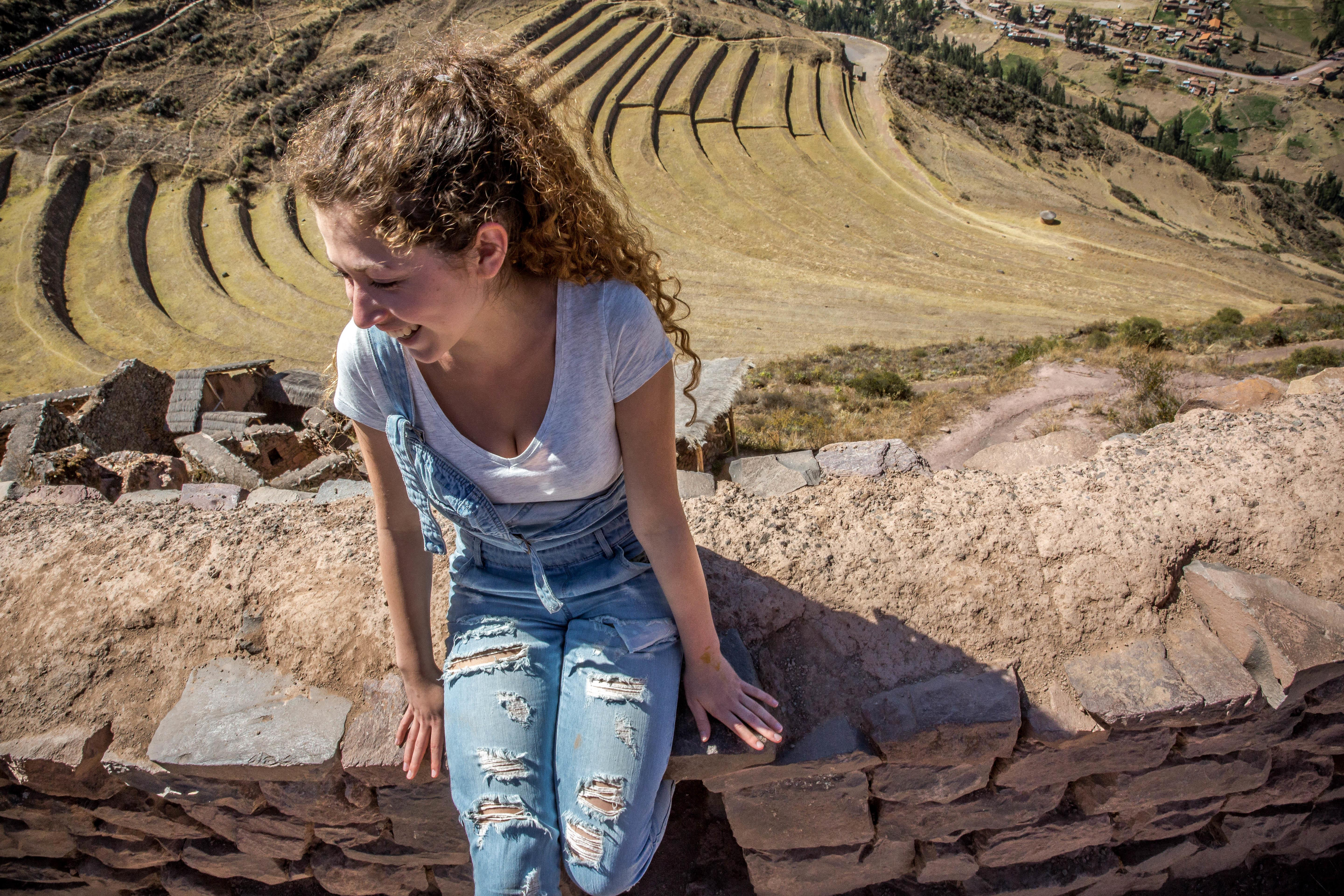 On the Spanish Language Course in Peru, students explore the local areas.